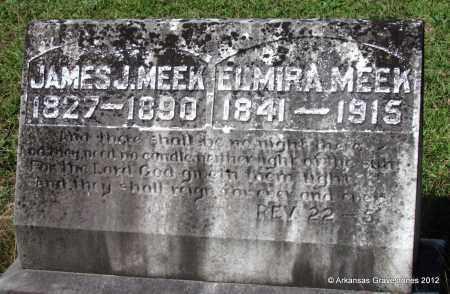 MEEK, ELMIRA - Bradley County, Arkansas | ELMIRA MEEK - Arkansas Gravestone Photos