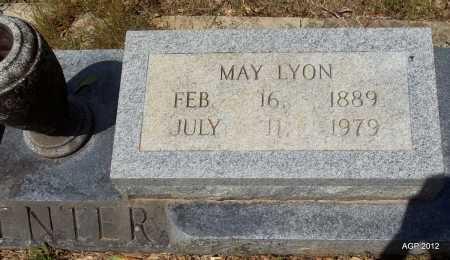 LYON MENTER, MAY - Bradley County, Arkansas | MAY LYON MENTER - Arkansas Gravestone Photos