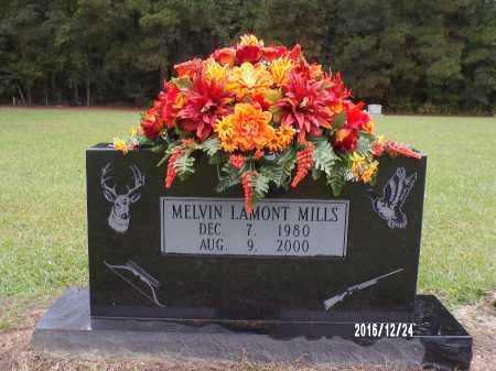 MILLS, MELVIN LAMONT - Bradley County, Arkansas   MELVIN LAMONT MILLS - Arkansas Gravestone Photos