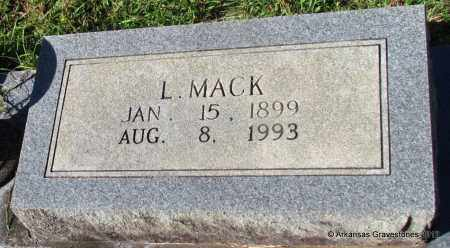 MORGAN, L MACK (CLOSEUP) - Bradley County, Arkansas | L MACK (CLOSEUP) MORGAN - Arkansas Gravestone Photos