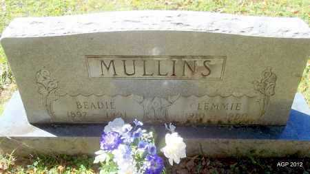 MULLINS, CLEMMIE - Bradley County, Arkansas | CLEMMIE MULLINS - Arkansas Gravestone Photos
