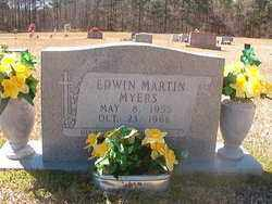 MYERS, EDWIN MARTIN - Bradley County, Arkansas | EDWIN MARTIN MYERS - Arkansas Gravestone Photos