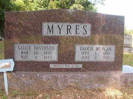 MYRES, ENOCH MORGAN - Bradley County, Arkansas | ENOCH MORGAN MYRES - Arkansas Gravestone Photos