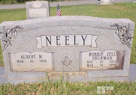 NEELY, AUBERT M - Bradley County, Arkansas   AUBERT M NEELY - Arkansas Gravestone Photos