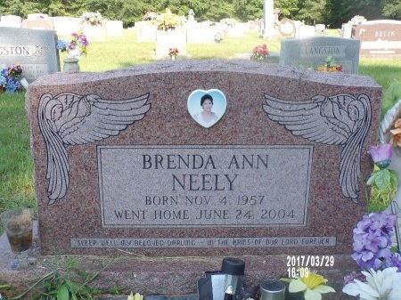 NEELY, BRENDA ANN - Bradley County, Arkansas | BRENDA ANN NEELY - Arkansas Gravestone Photos