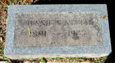 NEELY, BESSIE S - Bradley County, Arkansas | BESSIE S NEELY - Arkansas Gravestone Photos