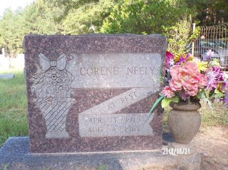 NEELY, CORENE - Bradley County, Arkansas | CORENE NEELY - Arkansas Gravestone Photos