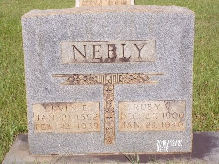 NEELY, ERVIN EDWARD - Bradley County, Arkansas | ERVIN EDWARD NEELY - Arkansas Gravestone Photos
