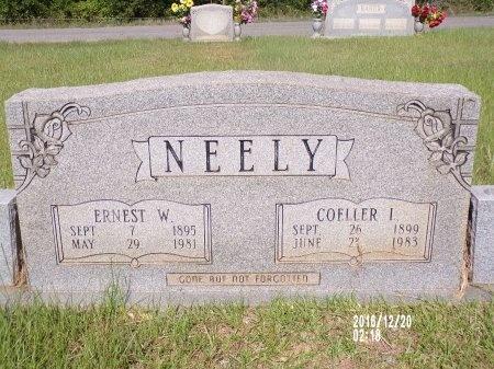 LANIER NEELY, COELLER - Bradley County, Arkansas | COELLER LANIER NEELY - Arkansas Gravestone Photos