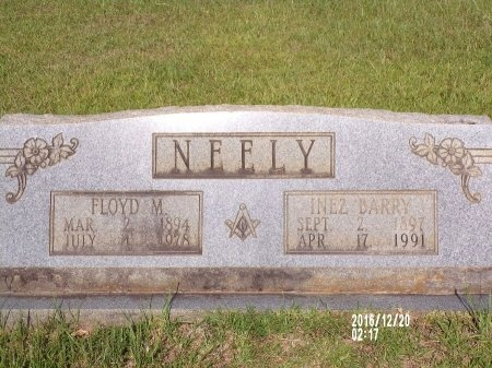 NEELY, FLOYD M - Bradley County, Arkansas | FLOYD M NEELY - Arkansas Gravestone Photos