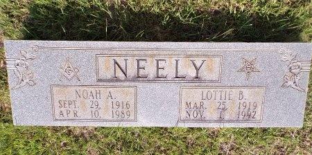 LYON NEELY, LOTTIE B - Bradley County, Arkansas | LOTTIE B LYON NEELY - Arkansas Gravestone Photos