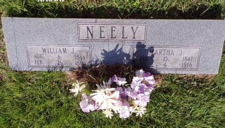 NEELY, MARTHA J - Bradley County, Arkansas | MARTHA J NEELY - Arkansas Gravestone Photos