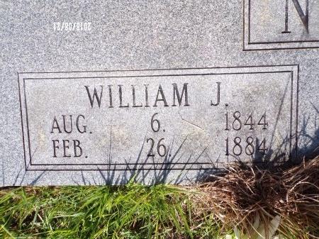 NEELY, WILLIAM JACKSON (CLOSE UP) - Bradley County, Arkansas | WILLIAM JACKSON (CLOSE UP) NEELY - Arkansas Gravestone Photos