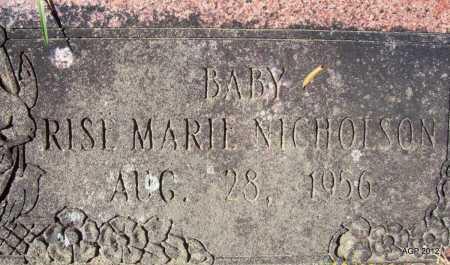 NICHOLSON, RISL MARIL - Bradley County, Arkansas | RISL MARIL NICHOLSON - Arkansas Gravestone Photos