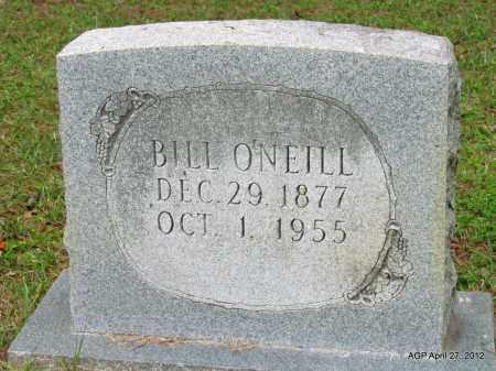 O'NEILL, BILL - Bradley County, Arkansas | BILL O'NEILL - Arkansas Gravestone Photos
