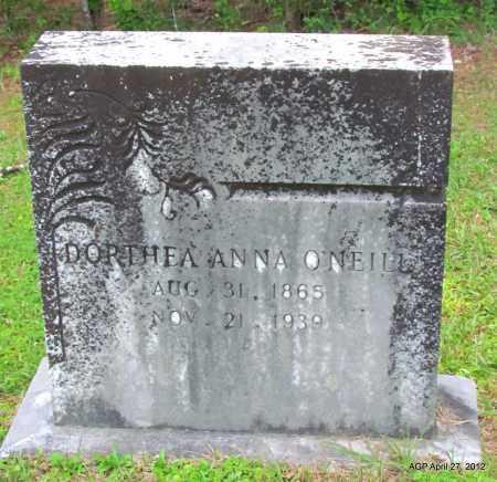 O'NEILL, DORTHEA ANN - Bradley County, Arkansas | DORTHEA ANN O'NEILL - Arkansas Gravestone Photos