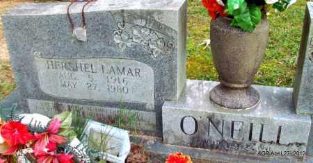 O'NEILL, HERSHEL LAMAR - Bradley County, Arkansas | HERSHEL LAMAR O'NEILL - Arkansas Gravestone Photos