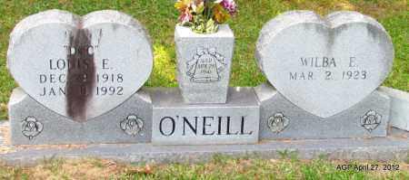 O'NEILL, WILBA - Bradley County, Arkansas | WILBA O'NEILL - Arkansas Gravestone Photos
