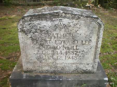 "O'NEILL, ROBERT EDWARD LEE ""NEL"" - Bradley County, Arkansas   ROBERT EDWARD LEE ""NEL"" O'NEILL - Arkansas Gravestone Photos"