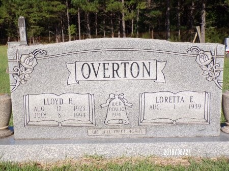 OVERTON, LLOYD H - Bradley County, Arkansas | LLOYD H OVERTON - Arkansas Gravestone Photos