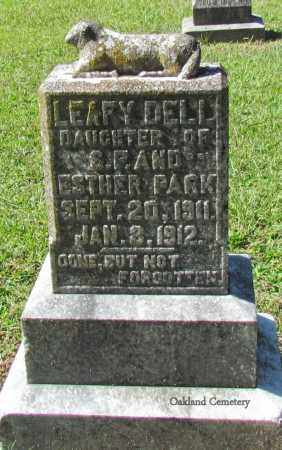 PARK, LEAFY DELL - Bradley County, Arkansas | LEAFY DELL PARK - Arkansas Gravestone Photos
