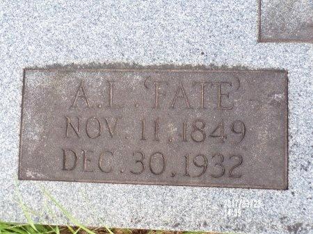 "PARKER, AARON LAFAYETTE ""FATE"" (CLOSE UP) - Bradley County, Arkansas | AARON LAFAYETTE ""FATE"" (CLOSE UP) PARKER - Arkansas Gravestone Photos"