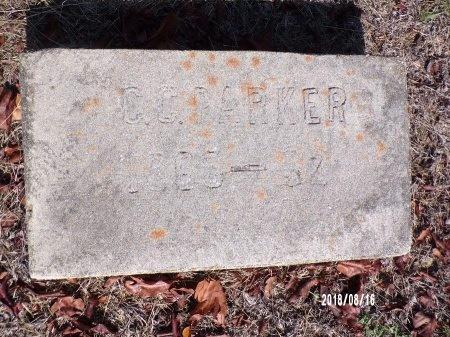 PARKER, CURTIS COLUMBUS - Bradley County, Arkansas   CURTIS COLUMBUS PARKER - Arkansas Gravestone Photos