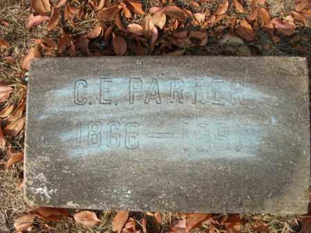 PARKER, CALVIN ETONLESS - Bradley County, Arkansas   CALVIN ETONLESS PARKER - Arkansas Gravestone Photos