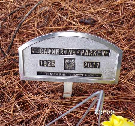 PARKER, CATHERINE - Bradley County, Arkansas | CATHERINE PARKER - Arkansas Gravestone Photos