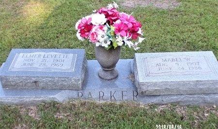 PARKER, ELMER LEVETTE - Bradley County, Arkansas | ELMER LEVETTE PARKER - Arkansas Gravestone Photos