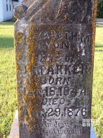PARKER, ELIZABETH M - Bradley County, Arkansas | ELIZABETH M PARKER - Arkansas Gravestone Photos