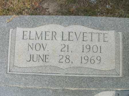 PARKER, ELMER LEVETTE (CLOSE UP) - Bradley County, Arkansas | ELMER LEVETTE (CLOSE UP) PARKER - Arkansas Gravestone Photos