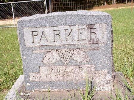 PARKER, FONZIE D - Bradley County, Arkansas | FONZIE D PARKER - Arkansas Gravestone Photos