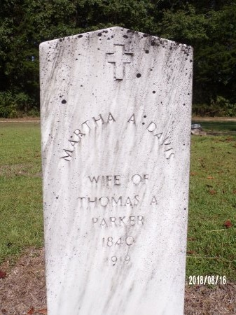 PARKER, MARTHA A - Bradley County, Arkansas | MARTHA A PARKER - Arkansas Gravestone Photos