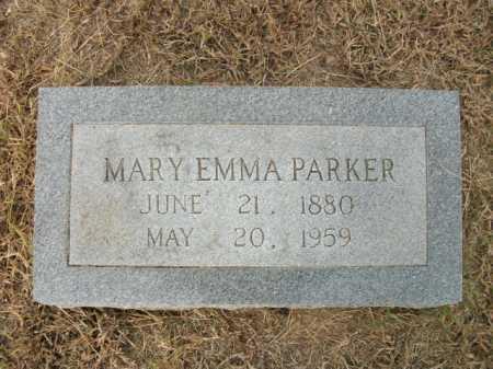 PARKER, MARY EMMA - Bradley County, Arkansas   MARY EMMA PARKER - Arkansas Gravestone Photos