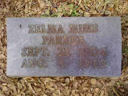 PARKER, ZELMA - Bradley County, Arkansas   ZELMA PARKER - Arkansas Gravestone Photos