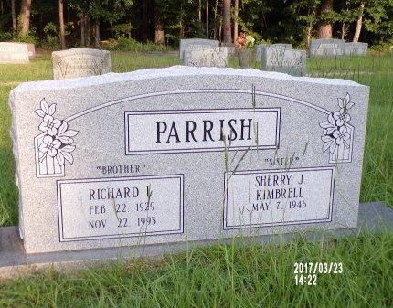 PARRISH, RICHARD LAMAR - Bradley County, Arkansas | RICHARD LAMAR PARRISH - Arkansas Gravestone Photos