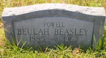 BEASLEY POWELL, BEULAH - Bradley County, Arkansas | BEULAH BEASLEY POWELL - Arkansas Gravestone Photos