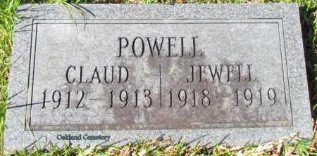 POWELL, CLAUD - Bradley County, Arkansas | CLAUD POWELL - Arkansas Gravestone Photos