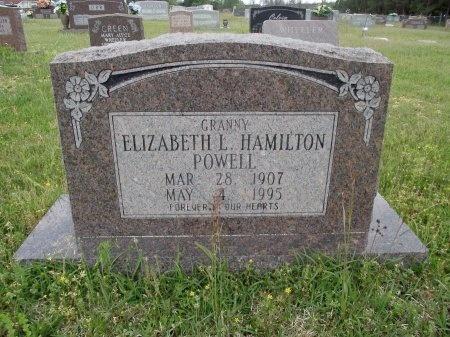 POWELL, ELIZABETH L - Bradley County, Arkansas   ELIZABETH L POWELL - Arkansas Gravestone Photos