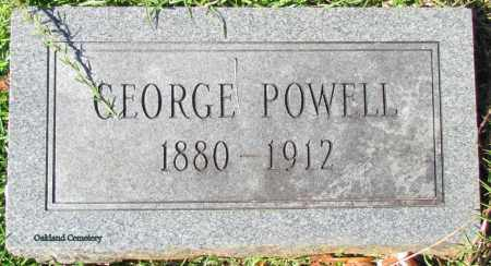POWELL, GEORGE - Bradley County, Arkansas | GEORGE POWELL - Arkansas Gravestone Photos