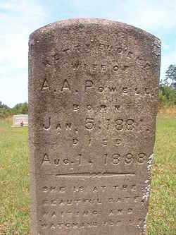 LEPHIEW POWELL, HETTY EUGENE - Bradley County, Arkansas | HETTY EUGENE LEPHIEW POWELL - Arkansas Gravestone Photos