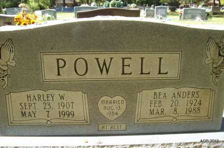 POWELL, BEA - Bradley County, Arkansas | BEA POWELL - Arkansas Gravestone Photos