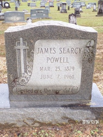POWELL, JAMES SEARCY - Bradley County, Arkansas | JAMES SEARCY POWELL - Arkansas Gravestone Photos