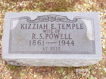POWELL, KIZZIAH E - Bradley County, Arkansas | KIZZIAH E POWELL - Arkansas Gravestone Photos