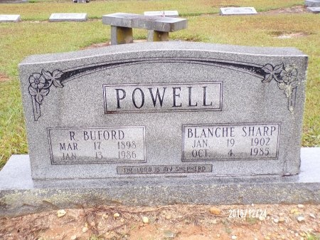 POWELL, ROBERT BUFORD - Bradley County, Arkansas | ROBERT BUFORD POWELL - Arkansas Gravestone Photos
