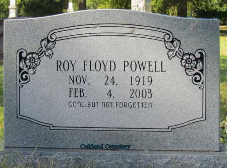POWELL, ROY FLOYD - Bradley County, Arkansas | ROY FLOYD POWELL - Arkansas Gravestone Photos