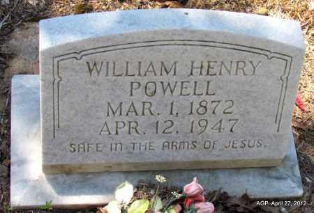 POWELL, WILLIAM HENRY - Bradley County, Arkansas   WILLIAM HENRY POWELL - Arkansas Gravestone Photos