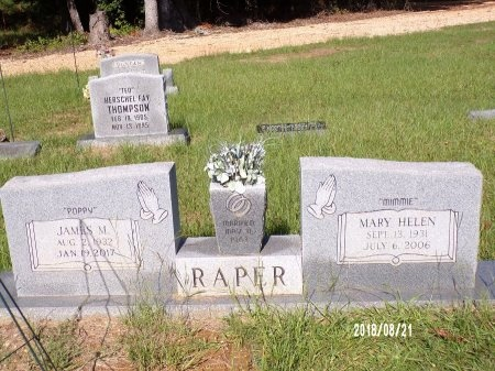 RAPER, MARY HELEN - Bradley County, Arkansas | MARY HELEN RAPER - Arkansas Gravestone Photos