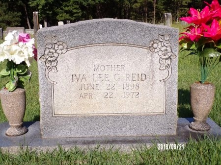 GAMBILL REID, IVA LEE - Bradley County, Arkansas | IVA LEE GAMBILL REID - Arkansas Gravestone Photos